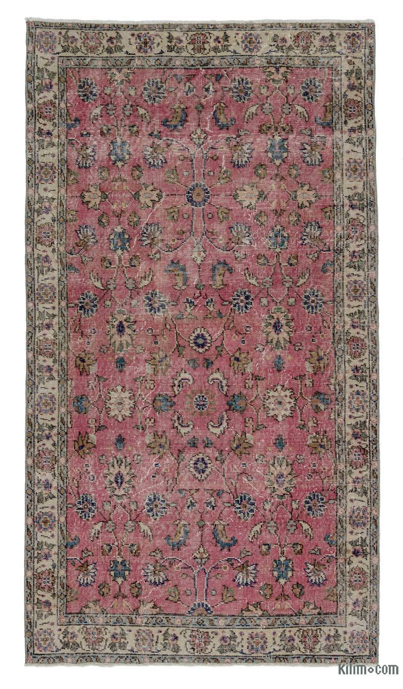 k0011177 turkish vintage rug 3 39 9 39 39 x 6 39 11 39 39 45 in x 83 in. Black Bedroom Furniture Sets. Home Design Ideas