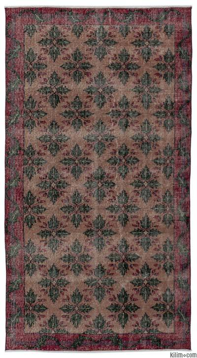 "Turkish Vintage Area Rug - 3'9"" x 7' (45 in. x 84 in.)"