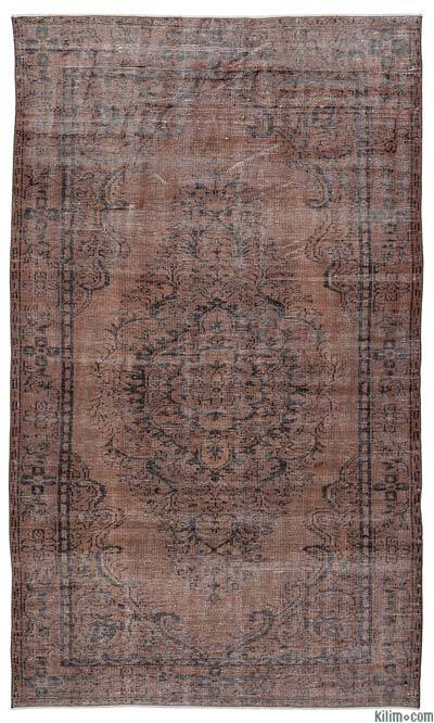 "Over-dyed Turkish Vintage Rug - 5'6"" x 9'7"" (66 in. x 115 in.)"