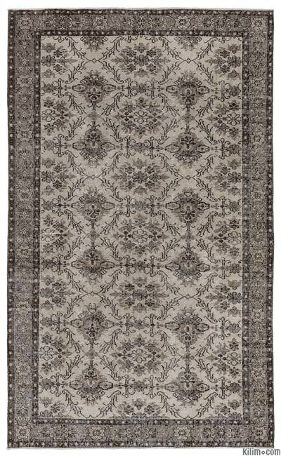 "Turkish Vintage Area Rug - 5' x 8'1"" (60 in. x 97 in.)"