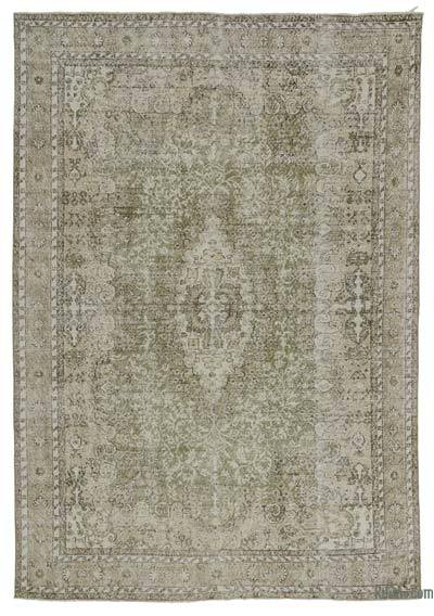 "Turkish Vintage Area Rug - 7'1"" x 10' (85 in. x 120 in.)"