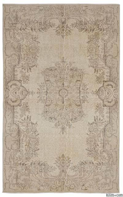 Over-dyed Turkish Vintage Rug - 5'9'' x 9'5'' (69 in. x 113 in.)