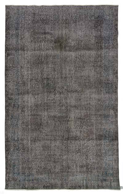 "Over-dyed Turkish Vintage Rug - 6'4"" x 10'3"" (76 in. x 123 in.)"