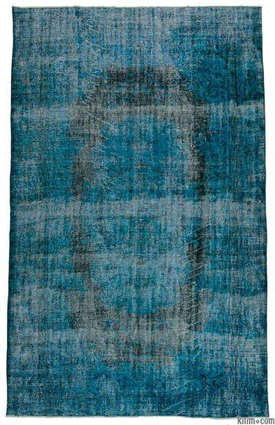 "Over-dyed Turkish Vintage Rug - 6' x 9'7"" (72 in. x 115 in.)"