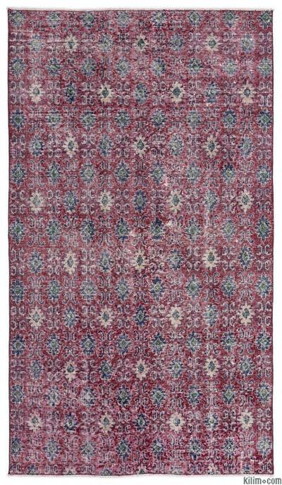 Turkish Vintage Area Rug - 3'9'' x 6'8'' (45 in. x 80 in.)