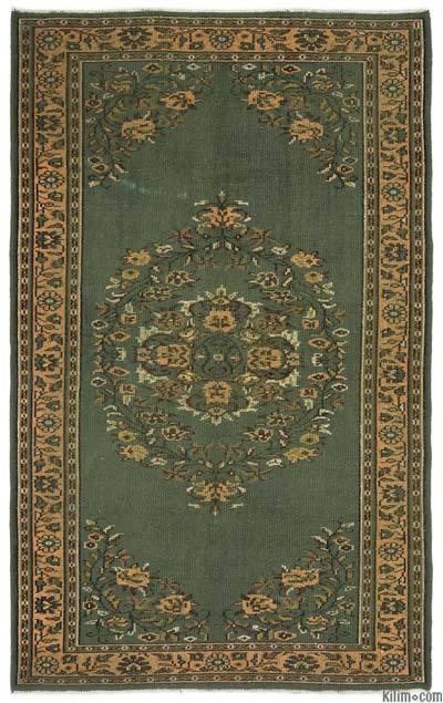 Turkish Vintage Area Rug - 5'11'' x 9'5'' (71 in. x 113 in.)