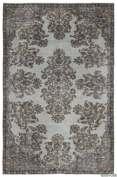"Over-dyed Turkish Vintage Rug - 5'5"" x 8'3"" (65 in. x 99 in.)"