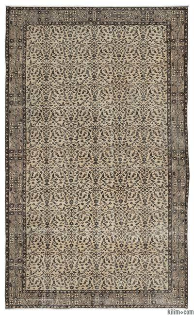 "Turkish Vintage Area Rug - 5'7"" x 9'5"" (67 in. x 113 in.)"