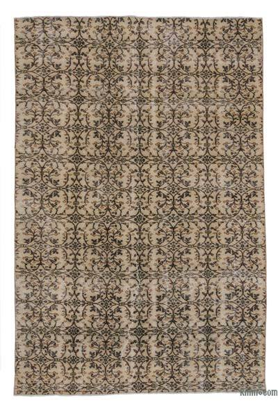 Turkish Vintage Area Rug - 6'2'' x 9'2'' (74 in. x 110 in.)