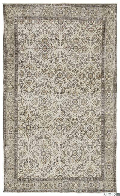 "Turkish Vintage Area Rug - 5'10"" x 9'11"" (70 in. x 119 in.)"