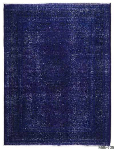 Over-dyed Vintage Rug - 9'8'' x 12'8'' (116 in. x 152 in.)