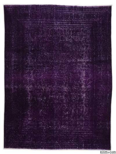 Over-dyed Vintage Rug - 9' x 12'6'' (108 in. x 150 in.)