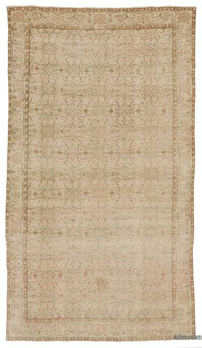Turkish Vintage Area Rug - 5'10'' x 10'5'' (70 in. x 125 in.)