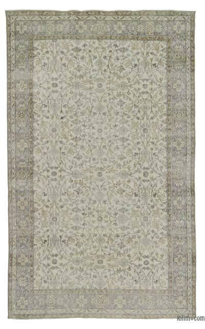 "Turkish Vintage Area Rug - 6' x 9'10"" (72 in. x 118 in.)"