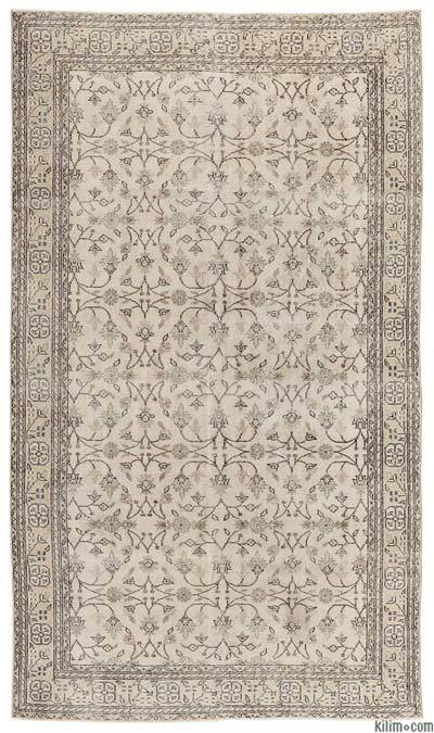 "Turkish Vintage Area Rug - 5'11"" x 10'3"" (71 in. x 123 in.)"