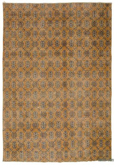 Turkish Vintage Area Rug - 7'1'' x 10'2'' (85 in. x 122 in.)