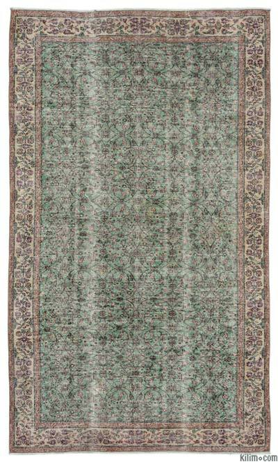 "Turkish Vintage Area Rug - 5'5"" x 9'1"" (65 in. x 109 in.)"