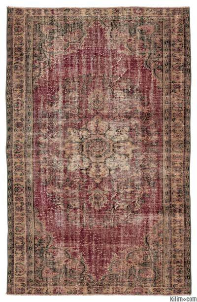 "Turkish Vintage Area Rug - 5'5"" x 8'4"" (65 in. x 100 in.)"