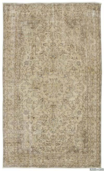 "Turkish Vintage Area Rug - 5' x 8'7"" (60 in. x 103 in.)"
