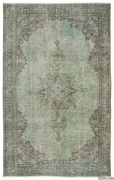 Over-dyed Turkish Vintage Rug - 5' x 8'3'' (60 in. x 99 in.)