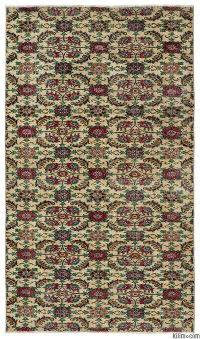 "Turkish Vintage Area Rug - 3'11"" x 6'10"" (47 in. x 82 in.)"