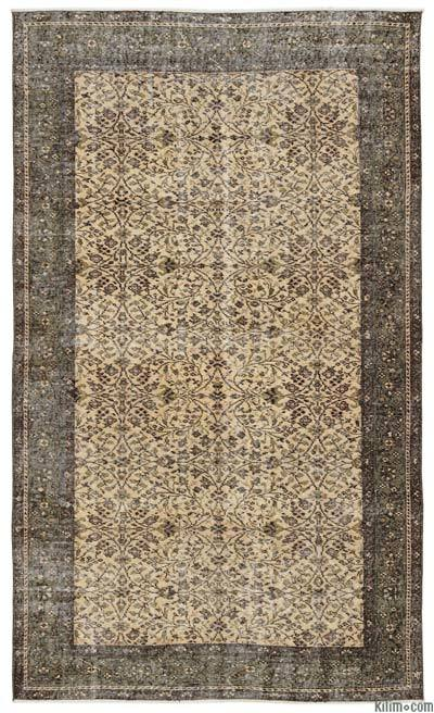 Turkish Vintage Area Rug - 4'11'' x 8'4'' (59 in. x 100 in.)