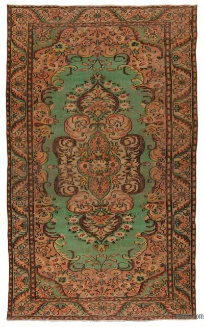 Turkish Vintage Area Rug - 5'9'' x 9'11'' (69 in. x 119 in.)