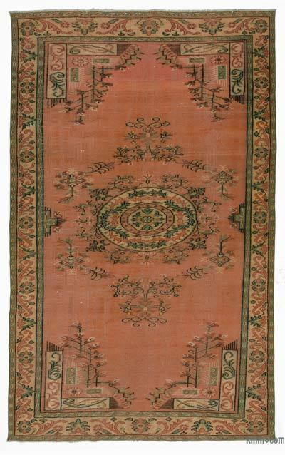 Turkish Vintage Area Rug - 5'10'' x 9'10'' (70 in. x 118 in.)