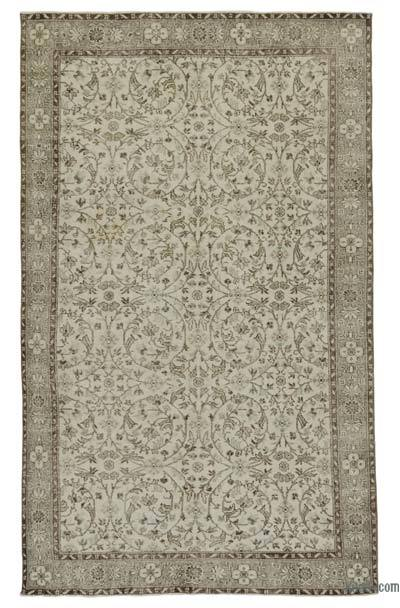 "Turkish Vintage Area Rug - 6'1"" x 9'7"" (73 in. x 115 in.)"