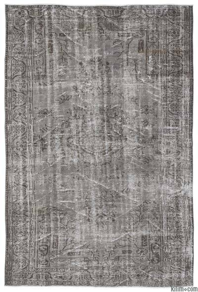 "Over-dyed Turkish Vintage Rug - 6' x 8'10"" (72 in. x 106 in.)"