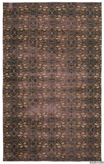 Turkish Vintage Rug - 5'5'' x 8'9'' (65 in. x 105 in.)
