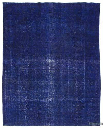 Over-dyed Vintage Rug - 9'7'' x 12'4'' (115 in. x 148 in.)