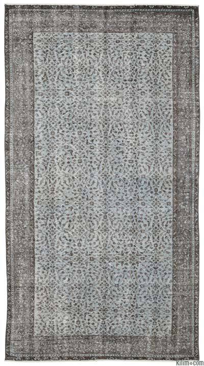 Turkish Vintage Area Rug - 4'11'' x 8'11'' (59 in. x 107 in.)