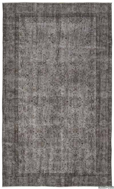 "Over-dyed Turkish Vintage Rug - 5'6"" x 9'2"" (66 in. x 110 in.)"