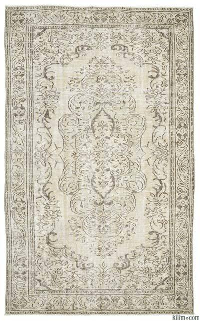 "Over-dyed Turkish Vintage Rug - 6' x 9'8"" (72 in. x 116 in.)"