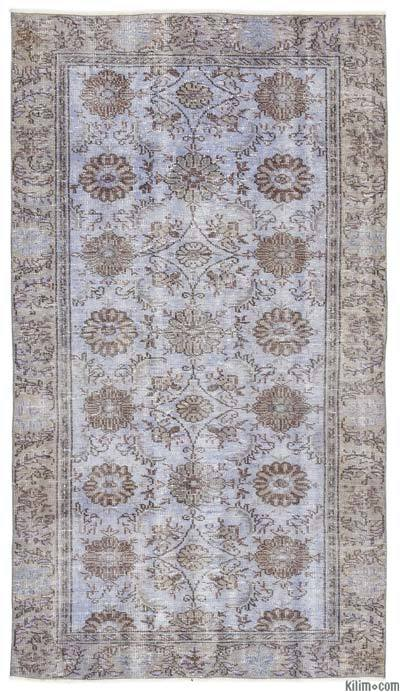 Turkish Vintage Area Rug - 4'8'' x 8'4'' (56 in. x 100 in.)