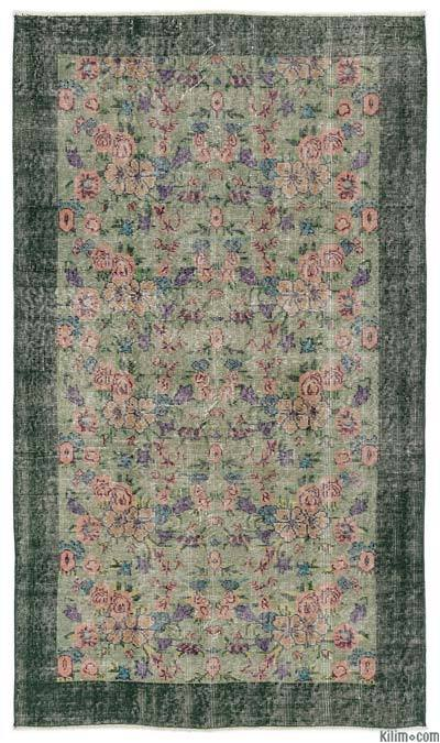 "Turkish Vintage Area Rug - 3'11"" x 6'8"" (47 in. x 80 in.)"
