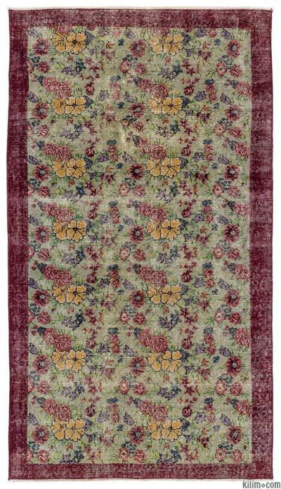 "Turkish Vintage Area Rug - 3'8"" x 6'8"" (44 in. x 80 in.)"