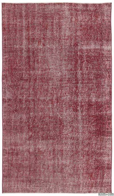 Over-dyed Turkish Vintage Rug - 5'7'' x 9'8'' (67 in. x 116 in.)