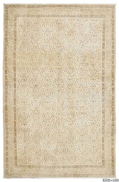"Over-dyed Turkish Vintage Rug - 6'7"" x 10'4"" (79 in. x 124 in.)"