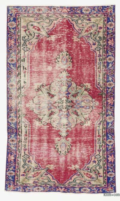 Turkish Vintage Rug - 3'6'' x 6'1'' (42 in. x 73 in.)