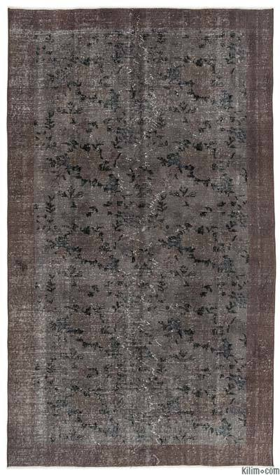 Over-dyed Turkish Vintage Rug - 4'9'' x 8'3'' (57 in. x 99 in.)