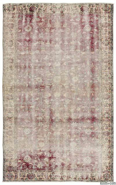 "Turkish Vintage Area Rug - 5'11"" x 9'8"" (71 in. x 116 in.)"