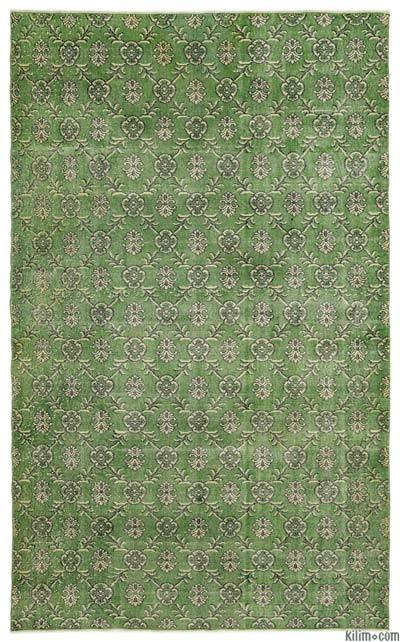 "Turkish Vintage Area Rug - 6'1"" x 10' (73 in. x 120 in.)"