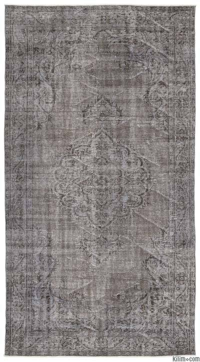 "Over-dyed Turkish Vintage Rug - 5'4"" x 9'10"" (64 in. x 118 in.)"