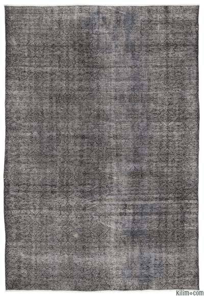"Over-dyed Turkish Vintage Rug - 6'2"" x 9' (74 in. x 108 in.)"