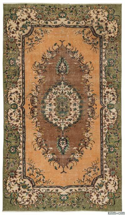 "Turkish Vintage Area Rug - 5'10"" x 10'5"" (70 in. x 125 in.)"