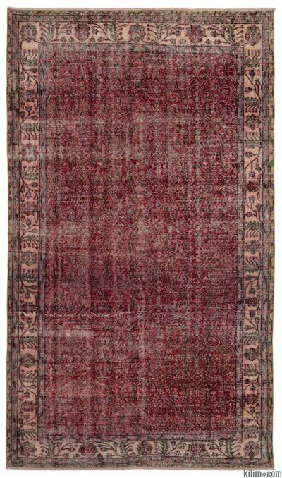 Turkish Vintage Rug - 5'8'' x 9'11'' (68 in. x 119 in.)
