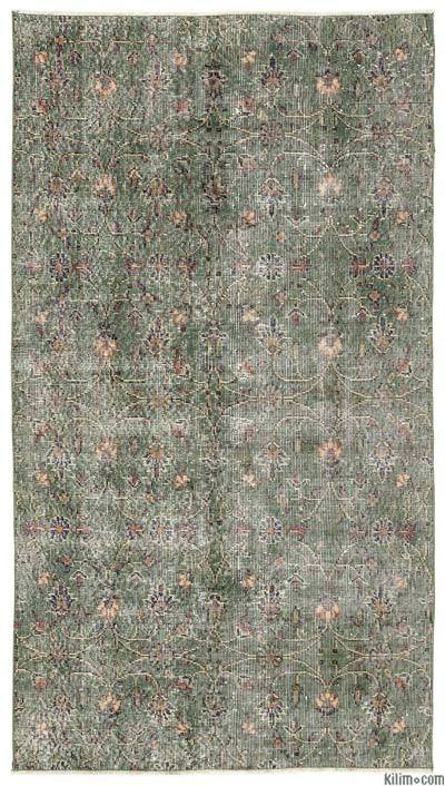 "Turkish Vintage Area Rug - 3'7"" x 6'7"" (43 in. x 79 in.)"