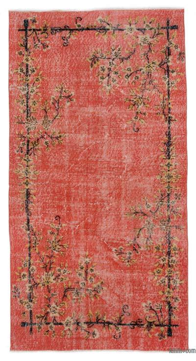 "Turkish Vintage Area Rug - 3'8"" x 7'2"" (44 in. x 86 in.)"